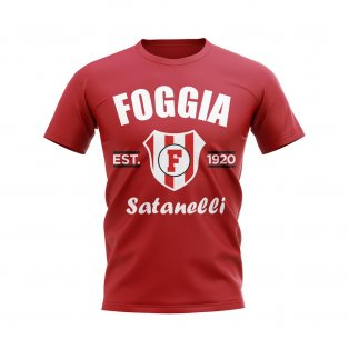 Foggia Established Football T-Shirt (Red)
