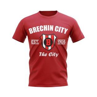 Brechin City Established Football T-Shirt (Red)