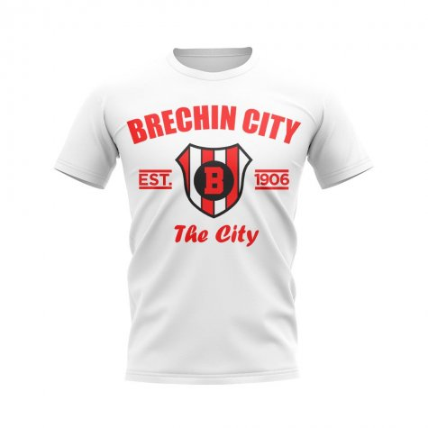 Brechin City Established Football T-Shirt (White)