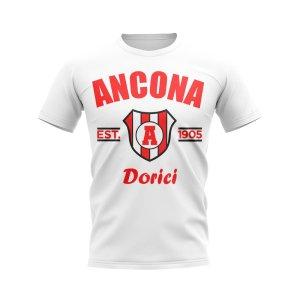 Ancona Established Football T-Shirt (White)