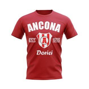 Ancona Established Football T-Shirt (Red)