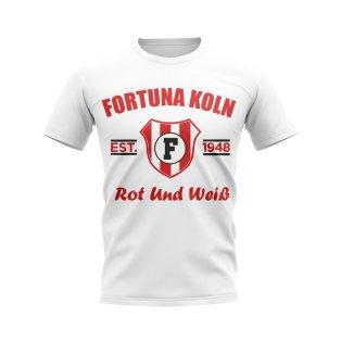 Fortuna Koln Established Football T-Shirt (White)