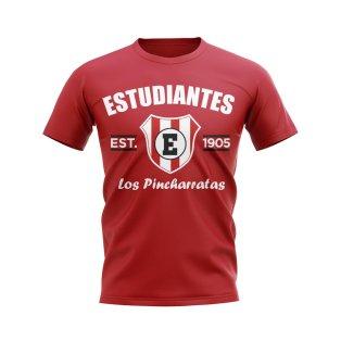 Estudiantes de la Plata Established Football T-Shirt (Red)