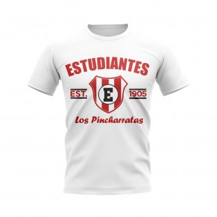 Estudiantes de la Plata Established Football T-Shirt (White)