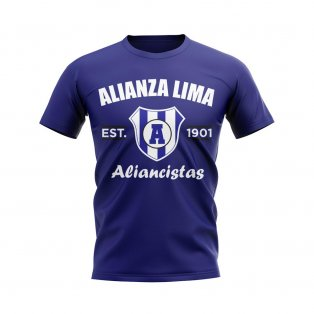 Alianza Lima Established Football T-Shirt (Navy)