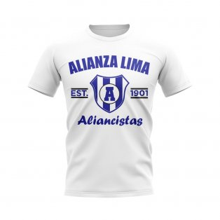 Alianza Lima Established Football T-Shirt (White)