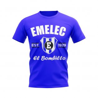 Emelec Established Football T-Shirt (Royal)