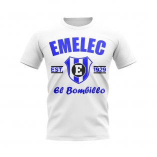 Emelec Established Football T-Shirt (White)