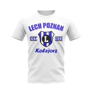 Lech Poznan Established Football T-Shirt (White)