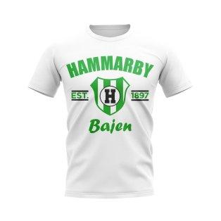 Hammarby Established Football T-Shirt (White)