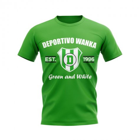 Deportivo Wanka Established Football T-Shirt (Green)