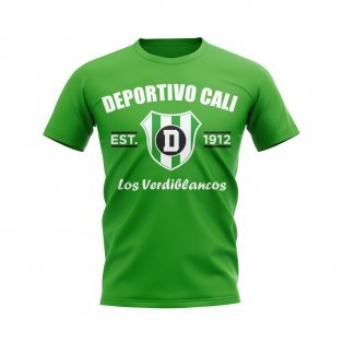 Deportivo Cali Established Football T-Shirt (Green)