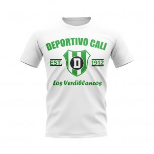 Deportivo Cali Established Football T-Shirt (White)