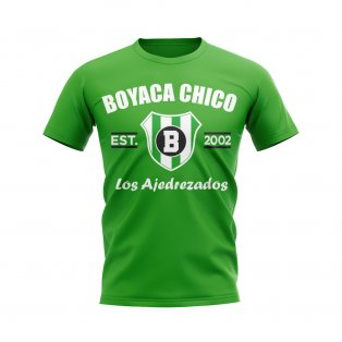 Boyaca Chico Established Football T-Shirt (Green)