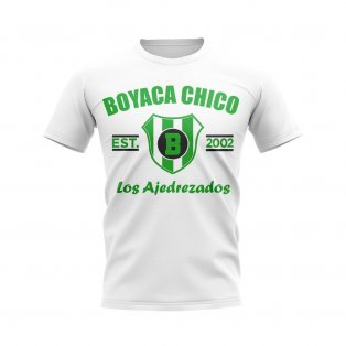 Boyaca Chico Established Football T-Shirt (White)