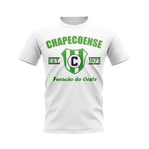 Chapecoense Established Football T-Shirt (White)