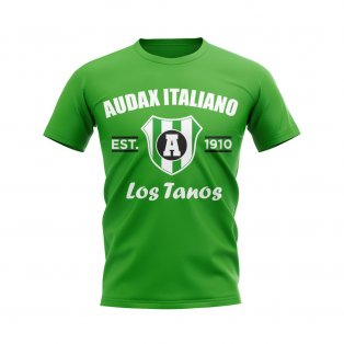 Audax Italiano Established Football T-Shirt (Green)
