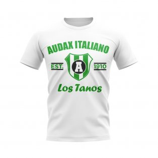 Audax Italiano Established Football T-Shirt (White)
