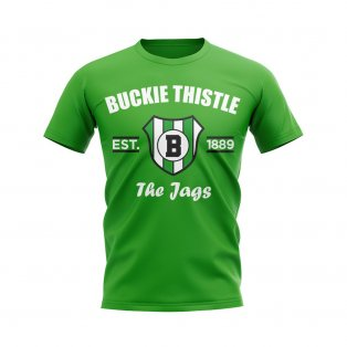 Buckie Thistle Established Football T-Shirt (Green)