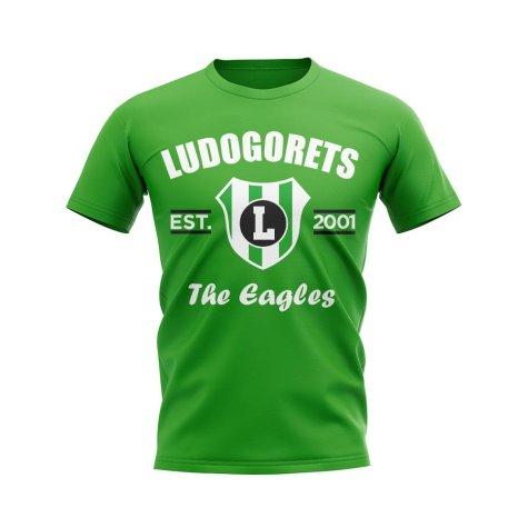 Ludogorets Established Football T-Shirt (Green)
