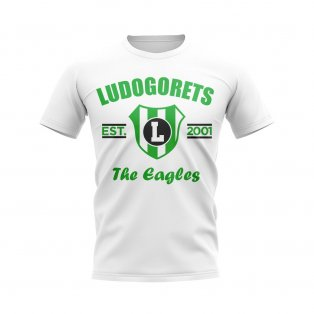 Ludogorets Established Football T-Shirt (White)