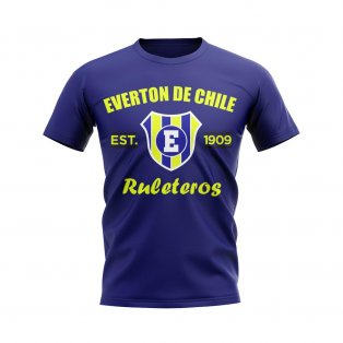 Everton de Chile Established Football T-Shirt (Navy)
