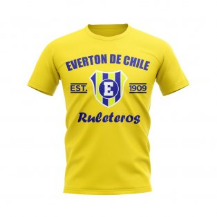 Everton de Chile Established Football T-Shirt (Yellow)