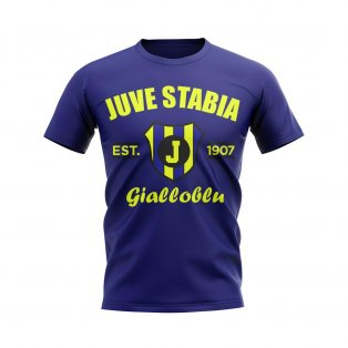 Juve Stabia Established Football T-Shirt (Navy)
