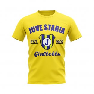 Juve Stabia Established Football T-Shirt (Yellow)