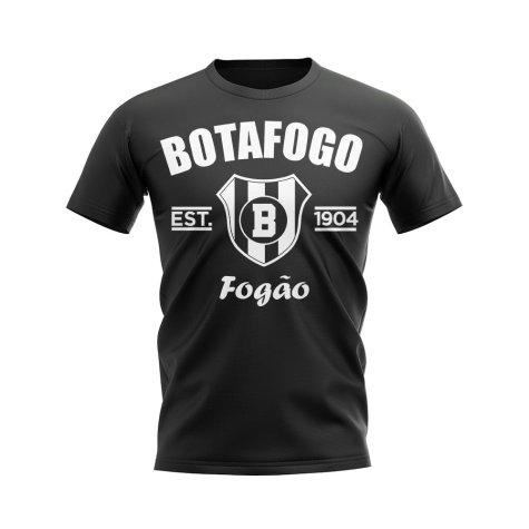 Botafogo Established Football T-Shirt (Black)