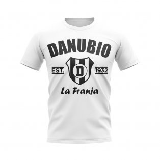 Danubio Established Football T-Shirt (White)