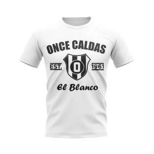 Once Caldas Established Football T-Shirt (White)