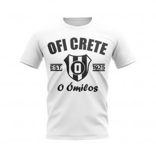 OFI Crete Established Football T-Shirt (White)