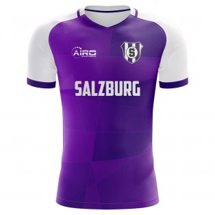 2019-2020 Austria Salzburg Home Concept Football Shirt