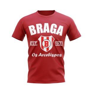 Sporting Braga Established Football T-Shirt (Red)