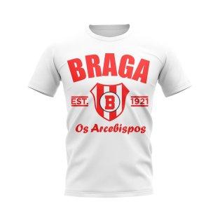 Sporting Braga Established Football T-Shirt (White)