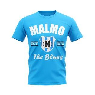 Malmo Established Football T-Shirt (Sky)