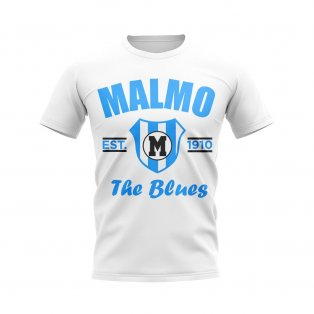 Malmo Established Football T-Shirt (White)