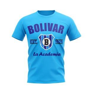 Bolivar Established Football T-Shirt (Sky)