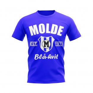 Molde Established Football T-Shirt (Royal)