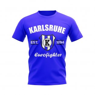 Karlsruhe Established Football T-Shirt (Royal)