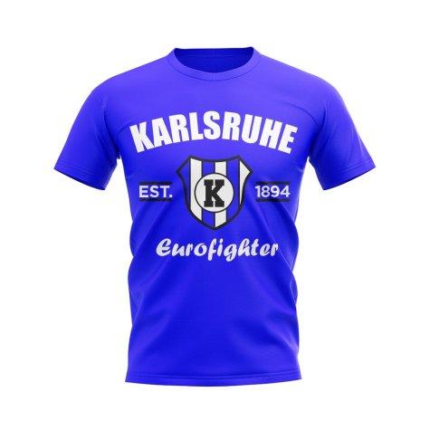 Karlsruhe Established Football T-Shirt (Royal)