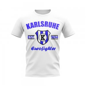 Karlsruhe Established Football T-Shirt (White)