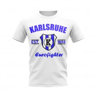 Karlsruhe Established Football T-Shirt (White)