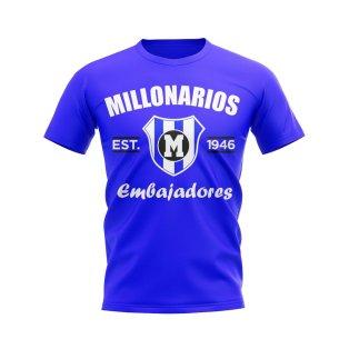 Millonarios Established Football T-Shirt (Royal)