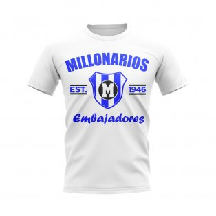Millonarios Established Football T-Shirt (White)