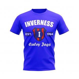 Inverness Established Football T-Shirt (Royal)