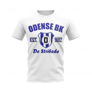 Odense Established Football T-Shirt (White)