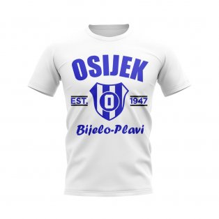 Osijek Established Football T-Shirt (White)