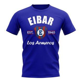 Eibar Established Football T-Shirt (Royal)